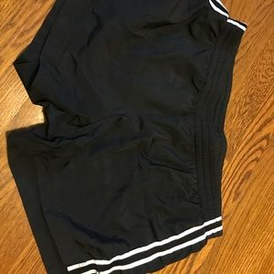 Black tennis shorts!